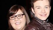 Glee Cast at Sister Act – Ashley Fink – Chris Colfer