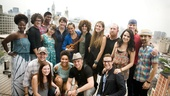 Hair Cast at Mets Game – group shot penthouse