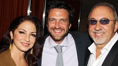 <i>Follies</i> opening night – Gloria Estefan – Raul Esparza – Emilio Estefan