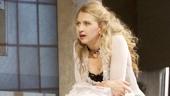 Hugh Dancy as Thomas and Nina Arianda as Vanda in Venus in Fur.