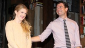 Seminar Opening Night – Lily Rabe – Jerry O'Connell (curtain call)