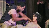 Blair Underwood as Stanley and Nicole Ari Parker as Blanche in A Streetcar Named Desire.