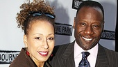 Clybourne Park Opening Night – Tamara Tunie – Gregory Generet