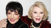 The Performers – preview opening – Liza Minnelli – Joan Rivers