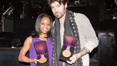 Gabby Douglas at 'Chicago' – Gabby Douglas – Billy Ray Cyrus