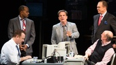 Show Photos - <i>Lucky Guy</i> - Tom Hanks - Michael Gaston - Courtney B. Vance - Peter Scolari - Christopher McDonald