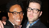 Kinky Boots Opening- Billy Porter- Zachary Quinto