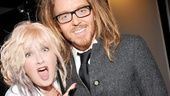 2013 Tony Nominee Brunch — Cyndi Lauper — Tim Minchin