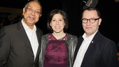 2013 Tony Nominee Brunch — George C. Wolfe — Arielle Tepper Madover — Colin Callender