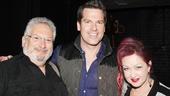 Celebs at Kinky Boots — Harvey Fierstein — Thomas Roberts — Cyndi Lauper