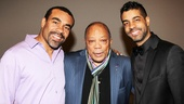 Quincy Jones at 'Motown' — Joseph Joubert — Quincy Jones — Jason Michael Webb