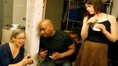 Courtney B. Vance Backstage at 'Lucky Guy' — Penny Daulton — Marc Damon Johnson — Paula Jon DeRose