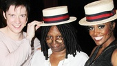 Pippin – Whoopi Backstage Visit – Matthew James Thomas – Whoopi Goldberg – Patina Miller