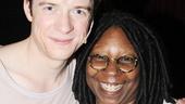 Pippin – Whoopi Backstage Visit – Matthew James Thomas – Whoopi Goldberg