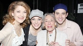Mary Rodgers at Cinderella – Mary Rodgers – Victoria Clark – Laura Osnes – Santino Fontana