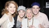 Mary Rodgers at Cinderella – Mary Rodgers – Victoria Clark – Laura Osnes – Santino Fontana