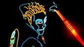 A scene from iLuminate: Artist of Light.