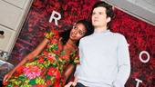 Romeo and Juliet - Marquee - Condola Rashad - Orlando Bloom