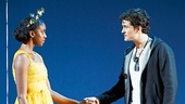 <I>Romeo and Juliet</I>: Show Photos - Condola Rashad  - Orlando Bloom