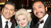 Gentleman's Guide opening night – Tony Yazbeck – Alison Fraser – Jose Llana