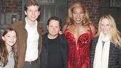 Michael J. Fox Visits Kinky Boots – Esmé Fox – Stark Sands – Michael J. Fox – Billy Porter – Tracy Pollan