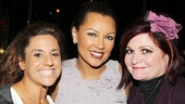 After Midnight - Backstage - OP - 4/14 - Marissa Jaret Winokur - Vanessa Williams - Faith Prince