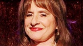 Patti LuPone flashes a smile at 54 Below.