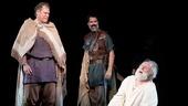 King Lear - Show Photos - PS - 7/14 - Jay O. Sanders - Jessica Collins - Christopher Innvar - John Lithgow