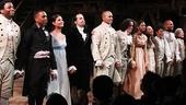 Hamilton – opening night – 2/15 – OP – cast