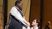 Chuck Cooper as Thomas & Josh Young as John Newton in Amazing Grace.
