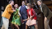 Jeremy Shamos as Frederick Fellowes, Kate Jennings Grant as Belinda Blair, David Furr as Garry Lejeune, Andrea Martin as Dotty Otley & Campbell Scott as Lloyd Dallas in Noises off