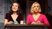 Laura Benanti as Amalia and Jane Krakowski as Ilona in She Loves Me.