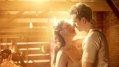 Carmen Cusack as Alice and Paul Alexander Nolan as Jimmy Ray Dobbs in Bright Star.