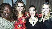 Brooke Shields Chicago Farewell Party - Michelle M. Robinson - Brooke Shields - Gabriela Garcia - Bryn Dowling