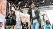 Bway on Bway 2010 – Lin-Manuel Miranda – Karen Olivo – confetti