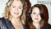 Priscilla opens – Kathleen Turner – daughter Rachel