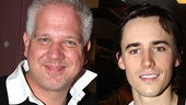 Celebs at Spider-Man – Glenn Beck – Reeve Carney