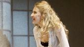 Hugh Dancy as Thoams and Nina Arianda as Vanda in Venus in Fur.