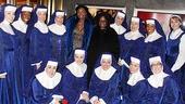 <i>Sister Act</I> at Macy's – Patina Miller – Whoopi Goldberg – the cast of <i>Sister Act</i>