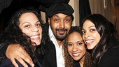 La La Anthony and more at Stick Fly – Rosario Dawson's mom Jesse L. Martin – Tracie Thoms – Rosario Dawson