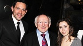 Irish President Visits Once –  Steve Kazee – Michael D. Higgins – Cristin Milioti