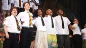 'Book of Mormon' LA Opening—Jared Gertner—Gavin Creel—Samantha Marie Ware—Kevin Mambo—Derrick Williams
