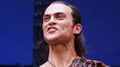 Daniel Breaker as Lee and Cheyenne Jackson as Mandrew in The Performers.