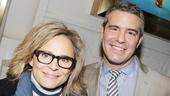 The Performers – opening night – Amy Sedaris – Andy Cohen