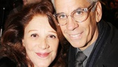 The Performers – opening night – Linda Lavin – Steve Bakunas