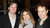 'Picnic' Opening Night — Josh Hamilton — Callie Thorne — Sam Rockwell