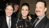 'Lucky Guy' Opening — Martin Short — Rita Wilson — Tom Hanks