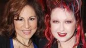 Kinky Boots Opening- Kathy Najimy- Cyndi Lauper