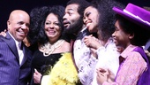 'Motown' Opening Night — Berry Gordy — Diana Ross — Brandon Victor Dixon — Valisia LeKae — Raymond Luke Jr.