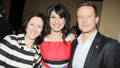 2013 Tony Nominee Brunch — Anna Louizos — Stephanie J. Block — Will Chase